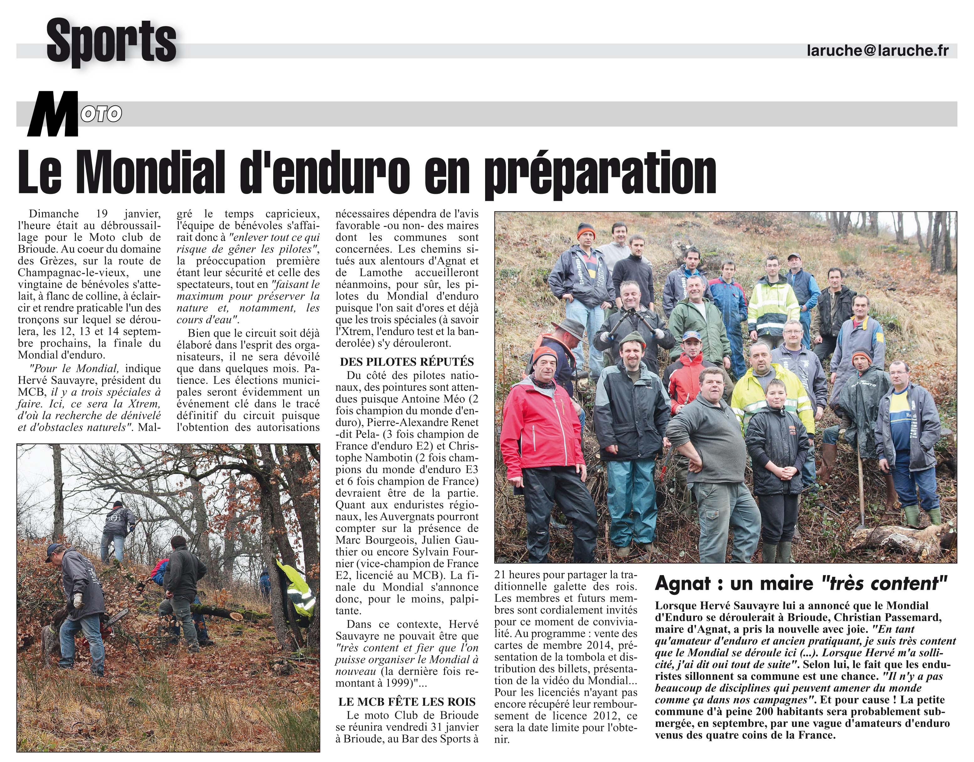La Ruche 24/01/2014